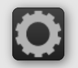Button with gradient and icon