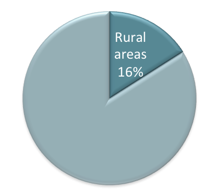 Rural internet penetration