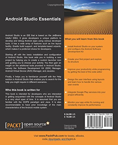 Android Studio Essentials back