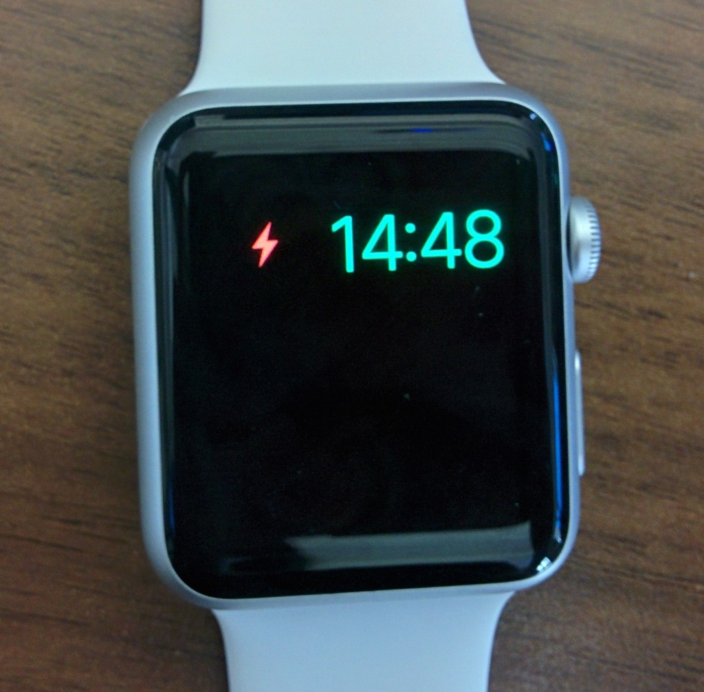 Apple Watch no battery