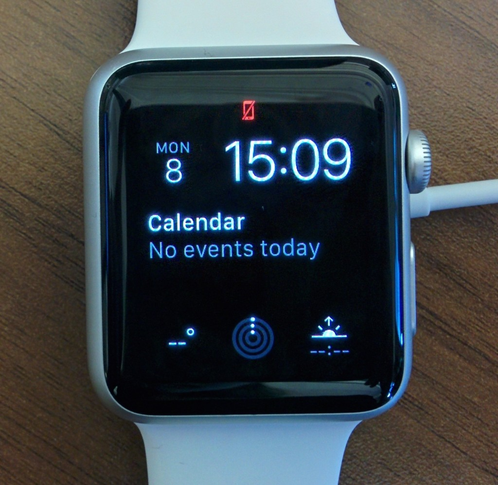 Apple Watch out of range