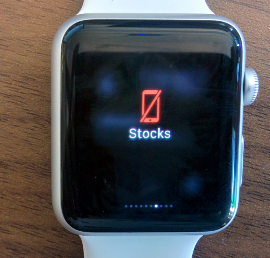 Apple Watch stock
