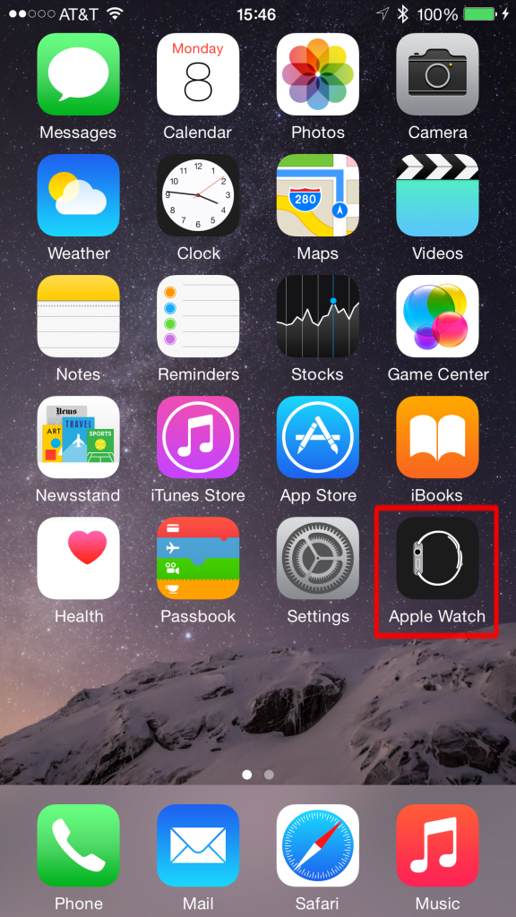 Apple Watch app icon